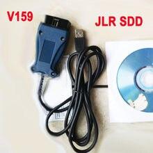 Protocolo de línea L compatible con Land Rover V159, JLR SDD Pro para Jaguar, compatible con PWM, CAN K, hasta 2017, varios idiomas, mejor que V158 V157