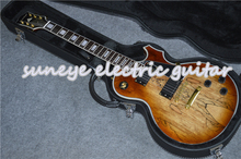 Hot Sale Suneye Custom Electric Guitar Block Pearl Inlaid Rosewood Fretboard Guitarra Electric With Guitar Case