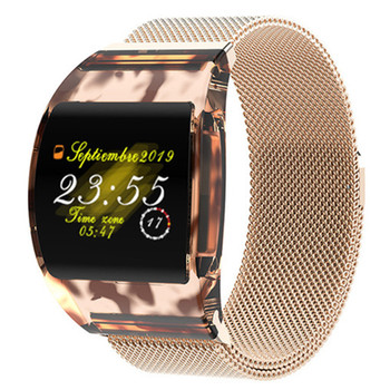 Smart Bracelet Curved Transparent Color Screen IP67 Waterproof Sport Heart Rate Blood Pressure Monitor Bluetooth Watch Wristband