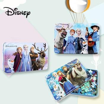 Disney 3d Puzzle / Frozen 2 Puzzle 200 Pieces Children's Educational Toy Wooden Puzzle Mickey Minnie Puzzle Aisha Kids Puzzle