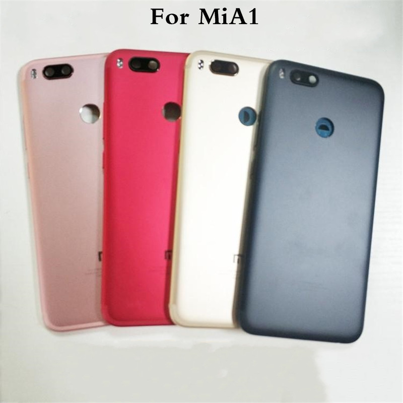 Original For <font><b>Xiaomi</b></font> MiA1 <font><b>Battery</b></font> <font><b>Cover</b></font> Rear Door Back Housing Case For <font><b>Xiaomi</b></font> <font><b>Mi</b></font> <font><b>5X</b></font> A1 <font><b>Battery</b></font> <font><b>Cover</b></font> Chassis Replacement image