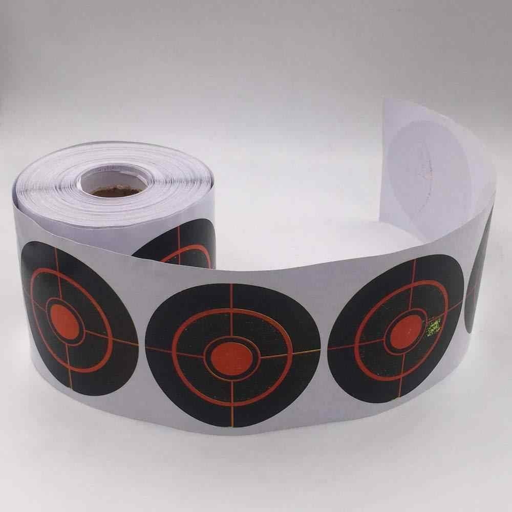 250 Pcs Stickers Shooting Targets Φ7.5Cm Reactive Splatter Target Practice