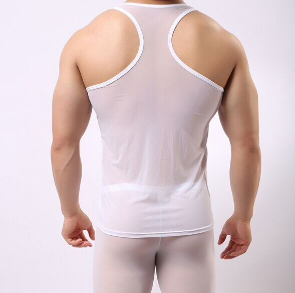..Hot Sales Men Undershirt Vest Sleeveless Casual Style