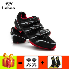 цена на TIEBAO mountain bike shoes men women breathable cycling sneakers add cleats sapatilha ciclismo mtb Athletic riding bicycle shoes