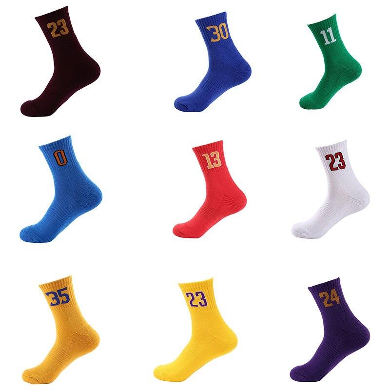 Профессиональные супер звезды баскетбольные носки Элитные толстые спортивные носки нескользящие прочные скейтборд носки полотенца чулок