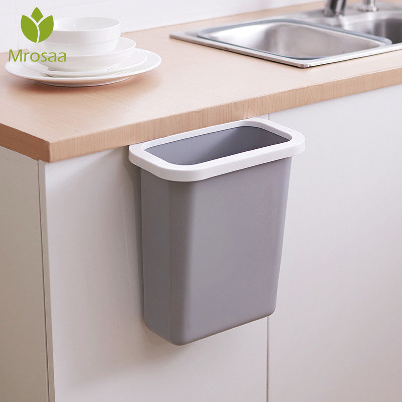 Storage-Box Narrow Kitchen Office Garbage-Container-Container Trash Bathroom Creative