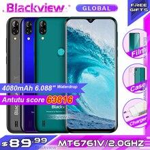 البلاكفيو A60 برو الهاتف الذكي MTK6761 رباعية النواة 6.088 Waterdrop شاشة 3GB RAM 16GB ROM أندرويد 9.0 4G الهاتف المحمول A60PRO