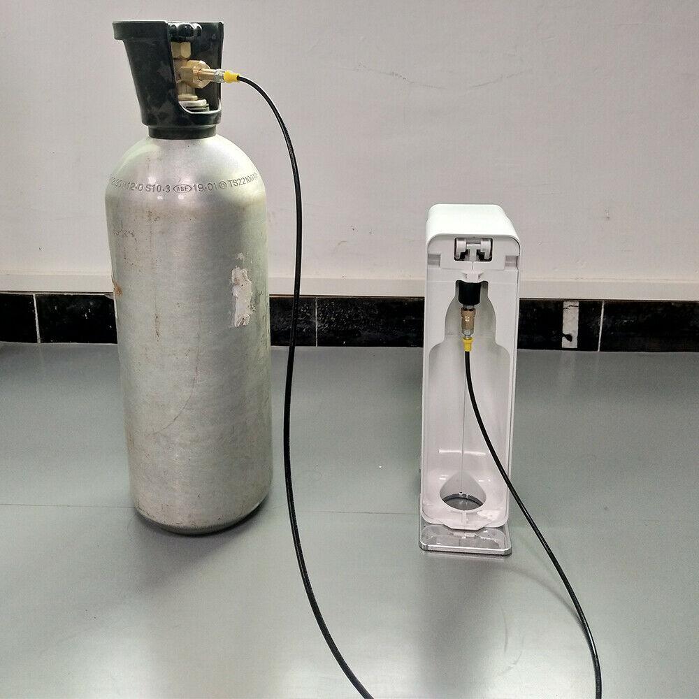 SodaStream Soda Maker Grohe Blue Home External Hose /& Adapter Kit CGA320 W21.8