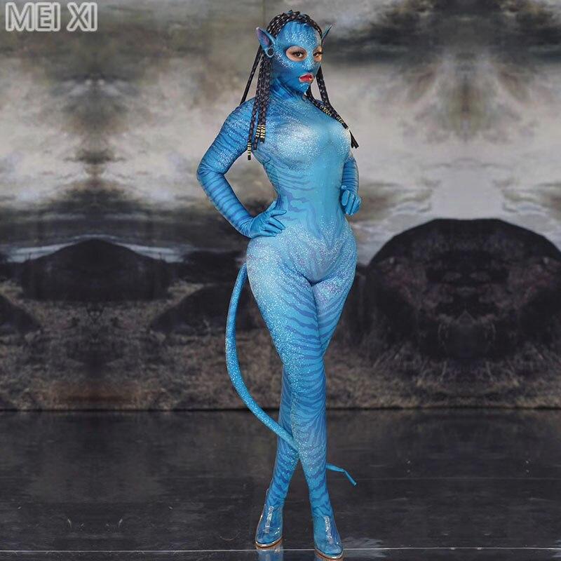 jeu-de-role-alien-elfe-male-et-femme-style-combinaison-discotheque-bar-concert-dj-chanteur-danseur-costumes