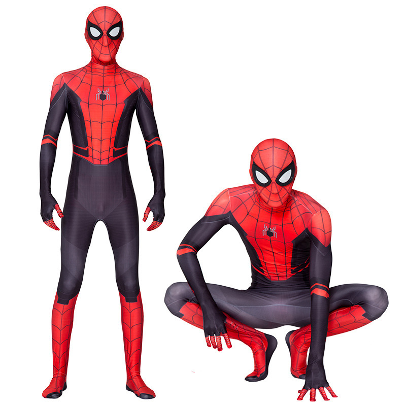 2020 New Children's Boys Costume Spider-Man:far From Home Peter Parker Cosplay Costume Zentai Spiderman Pattern Body Bodysuits