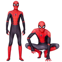 2020 New Children's boys costume Spider-Man:far from home Peter Parker