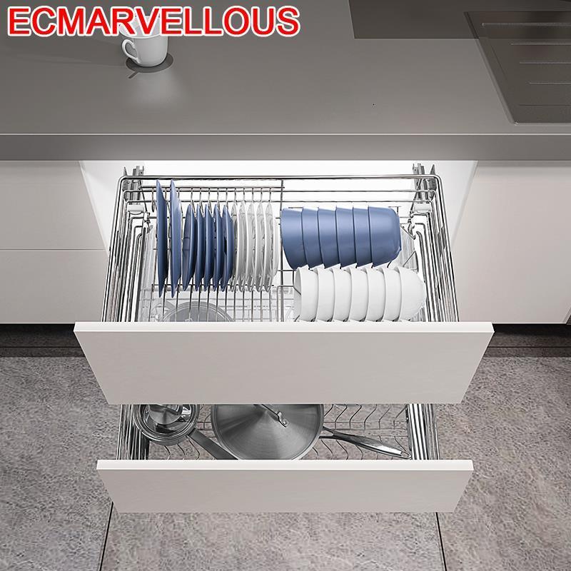 Malzemeleri Keuken Organisadores Para Armario De Cosina Stainless Steel Cuisine Organizer Cocina Kitchen Cabinet Storage Basket