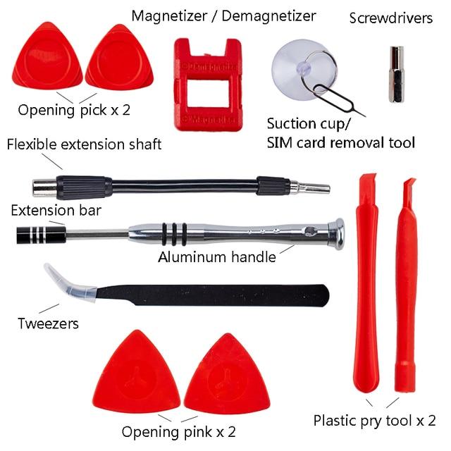 115 In 1 Schroevendraaier Set Magnetische Schroevendraaier Bit Torx Multi Mobiele Telefoon Reparatie Tools Kit Elektronische Apparaat Hand Tool