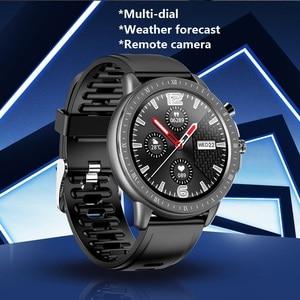 Image 2 - SENBONO reloj inteligente S02, reloj inteligente deportivo con control del ritmo cardíaco y de la presión sanguínea y del oxígeno en la sangre, reloj de seguimiento de Fitness