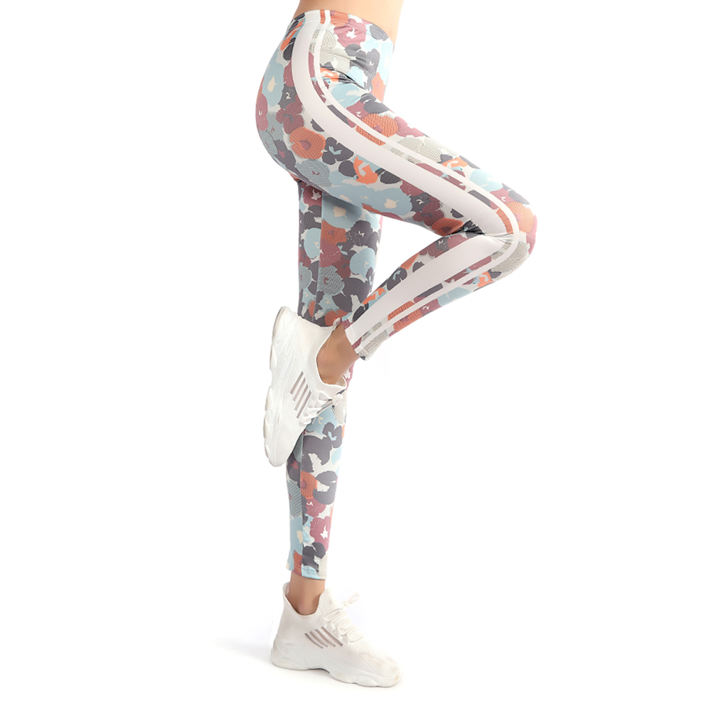 Yeedee New Workout Leggings Fashion Legging Camouflage Printing Leggins Women Fitness Running Gym Pants Dropshipping Wholesale