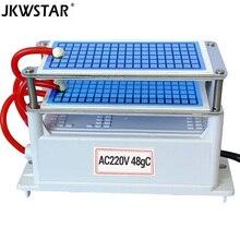 48 جرام مولد أوزون 220 فولت Ozonio Gerador حياة طويلة لوحة سيراميك ozontor ozonizador الهواء المياه الأنظف لتنقية الهواء