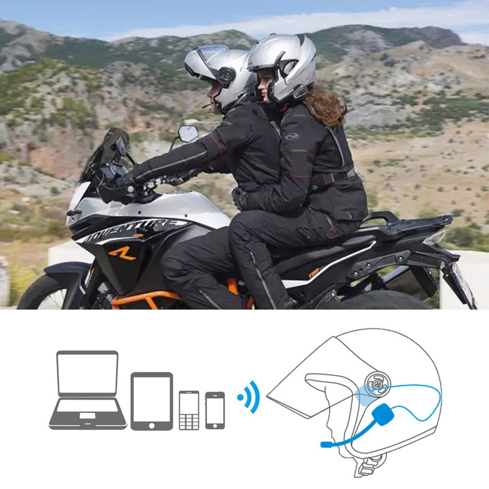 MH03 Motorcycle Helmet Headset Motorcycle Handsfree Headphone Headset Free For MP3 Music GPS Car Styling