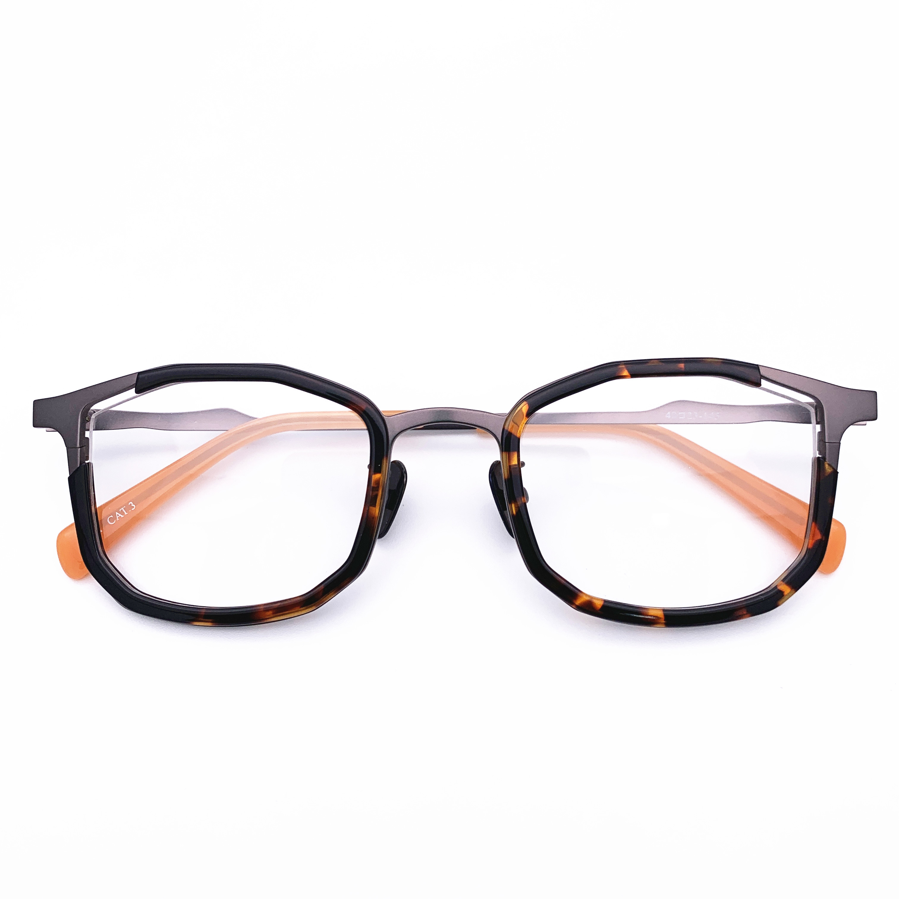 Belight Optical Japan Design Irregular Shape Spectacle Frame Men Women Prescription Eyeglasses Retro Optical  Eyewear MM-001