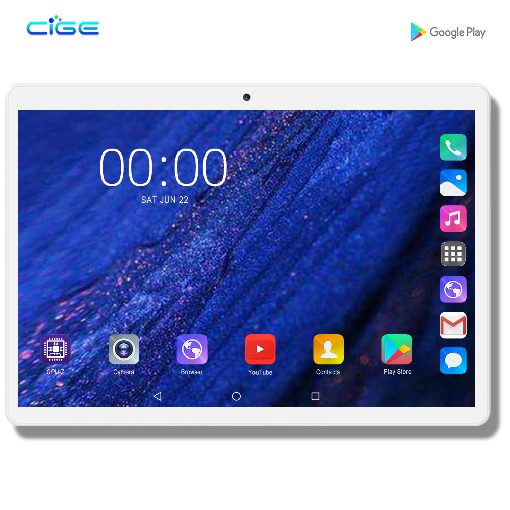 2020 Tablet Pc 128G Girl Birthday Present Android 9.0 10 Inch Tablets Octa Core 4G LTE 8GB RAM 128GB ROM 2.5D Screen Tablet Pcs