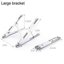 Foldable  Laptop Stand for MacBook Pro Notebook Stand  Aluminium Alloy ABS Tablet Stand Bracket Laptop Holder for Notebook