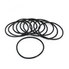 10 шт. черный 78 мм OD 3,5 мм толщины резиновый уплотнительное кольцо уплотнительные прокладки