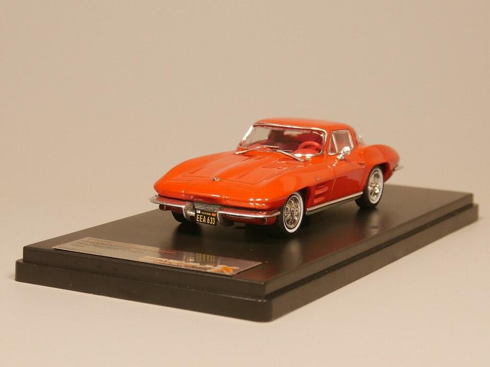 PREMIUM X 1:43 CHEVROLET CORVETTE C2 Sting Ray Sport Coupe 1964 Diecast Model Car