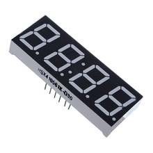Wholesale Kualitas Tinggi 0.56 Inch 7 Segmen 4 Digit Super Red Clock LED Display Umum Anoda Waktu 12 PIN UNTUK DIY 2X0.75 Inch(China)