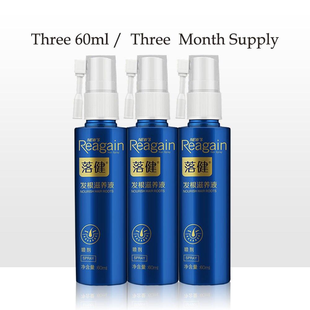 3 pièces Huile De Croissance des Cheveux Essence Épaississant pour le Sérum de Croissance de Cheveux de Produit de Perte De Cheveux 100% Extrait naturel Huile Liquide de Croissance Rapide Des Cheveux