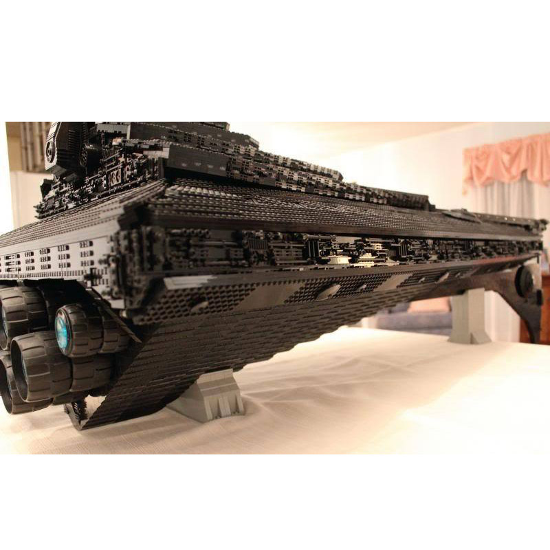 Star Toys Wars Building Blocks Compatible With Legoing UCS Dreadnought Star Destroyer Assembly Model Kits Kids Christmas Gifts 2