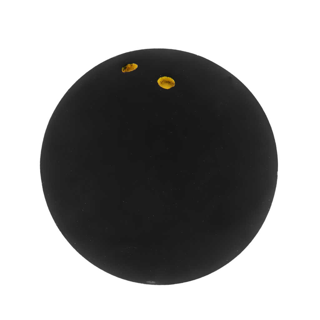 Draagbare Rubber Dubbele Geel Dot Trainner Squash Ballen Voor Indoor Outdoor
