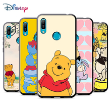 Black Soft Winnie The Pooh For Huawei P Smart 2021 2020 Z S Mate 40 RS 30 20 20X 10 Pro Plus Lite 2019 Phone Case