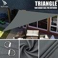 Тяжелая Водонепроницаемая Солнцезащитная козырек для паруса, трехсторонняя/Треугольная 5x5x 5 м/2x2x2 м, садовый двор, тенты для автомобиля, Сол...