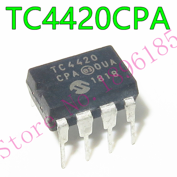 1pcs/lot TC4420CPA TC4420 = MIC4420BN MIC4420 DIP-8 6A HIGH-SPEED MOSFET DRIVERS image