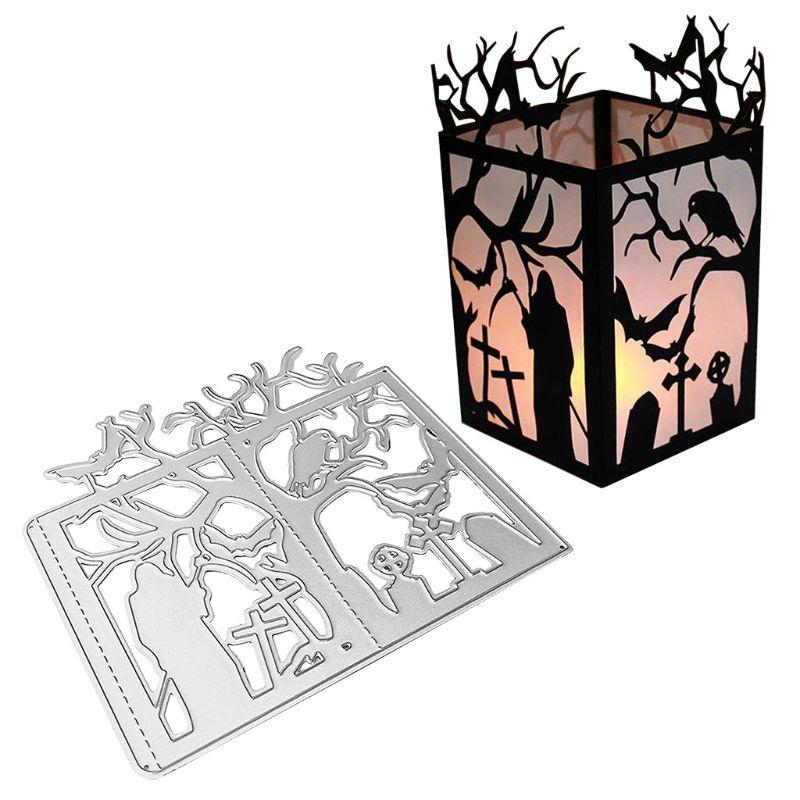 Halloween Ghost Metal Cutting Dies Stencil DIY Scrapbooking Paper Album Stamp