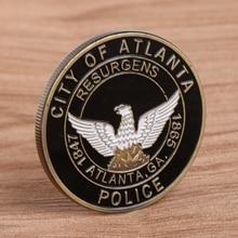 Saint Michael  Atlanta Police Department  Commemorative Challenge Coins Collection Token Art saint michael the archangel commemorative challenge coins collection token art