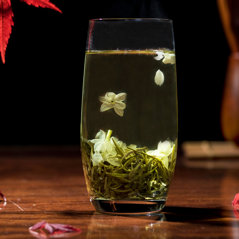 Chinese Jasmine Flower Green Tea Real Organic New Early Spring Jasmine Tea for Weight Loss Green Food Health Care 3