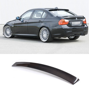 Image 1 - E90 HM Styling Carbon Fiber  Rear Roof  Lip Wing Spoiler  for BMW 2005 2012