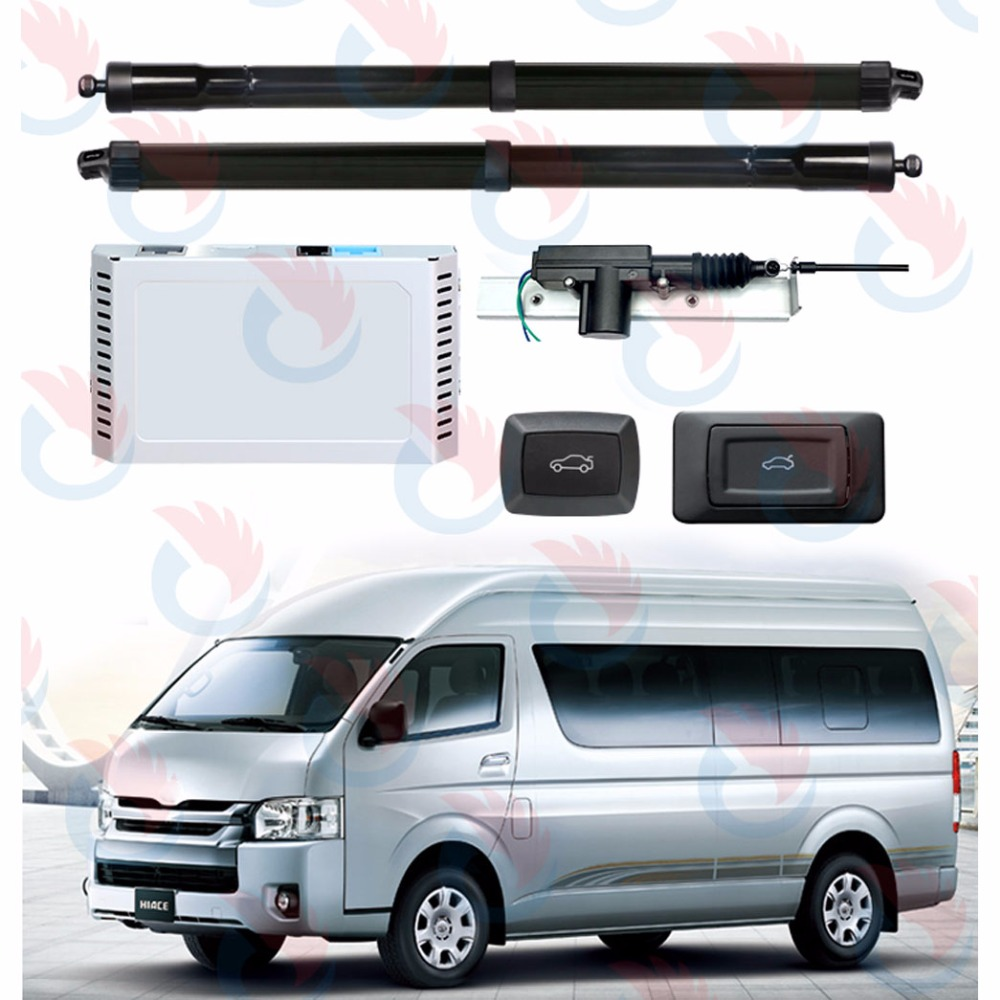 Car Smart Auto Electric Tail Gate Lift Special For Toyota Hiace Standard Version With Easy Closer 2012-2017