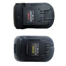 2 pièces Mt20Ml adaptateur convertisseur de batterie pour Makita 18V/20V Bl1830 Bl1860 Bl1815 Li Ion batterie, 1 pièces pour Milwaukee M18 & 1 pièces f
