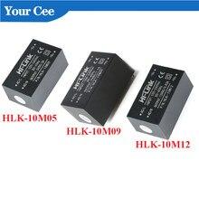 AC-DC Мощность модуль мини изоляция рубильник преобразователь переменного тока в постоянный, 10W Питание модуль 220 В до 5 В/9 В/12V HLK-10M05 HLK-10M09 HLK-10M12 ...