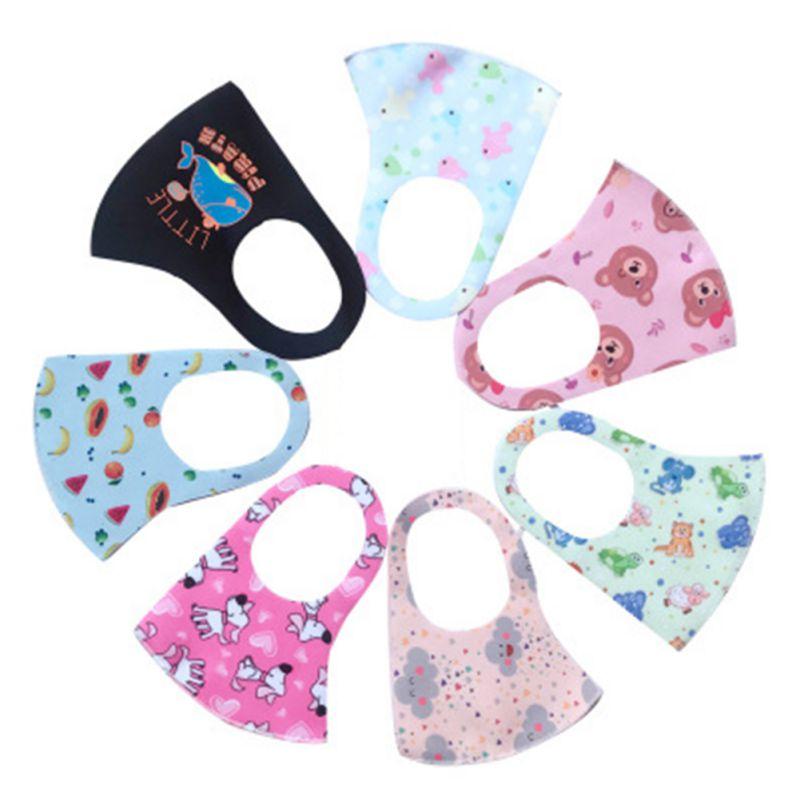 Kid Mask Washable Children\'s Masks Fashion Anti-fog And Dust-proof Comfortable Masks (random Colors)
