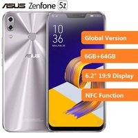 Clearance ASUS Zenfone 5Z 4G Android Smartphone 6.2 SnapDragon 845 2.8GHz Octa Core 6GB+64GB 12.0MP + 8.0MP Mobile Cellphone