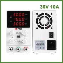 4 digits USB DC Laboratory Regulated Lab Power Supply Adjust