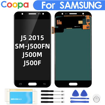 5.0 Inch For Samsung Galaxy J5 2015 J500 LCD Display+Touch Screen LCD Digitizer Assembly SM-J500FN J500M Replacement Phone Parts