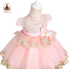 Yoliyolei платья для девочек; Платье принцессы Детское бальное