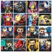 Hot Toys Avengers: Endgame Cosbaby Marvel Figure Model Bobble-Head Cute Dolls