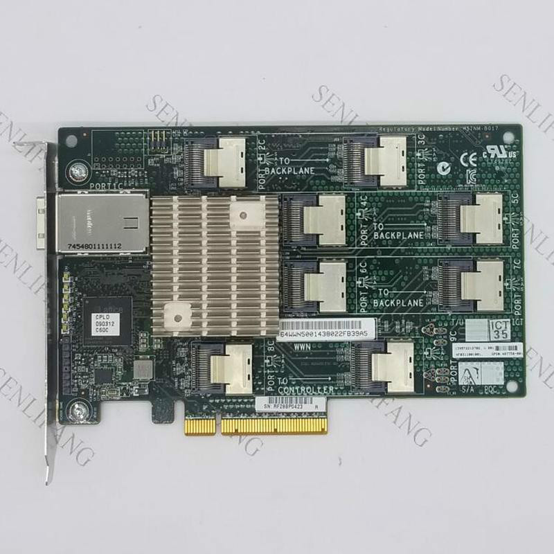 468406-B21 468405-001 468405-002 487738-001 24 Bay 3GB SAS Expander Card For DL380G6 G7 ML370G6 Well Tested Refurbished
