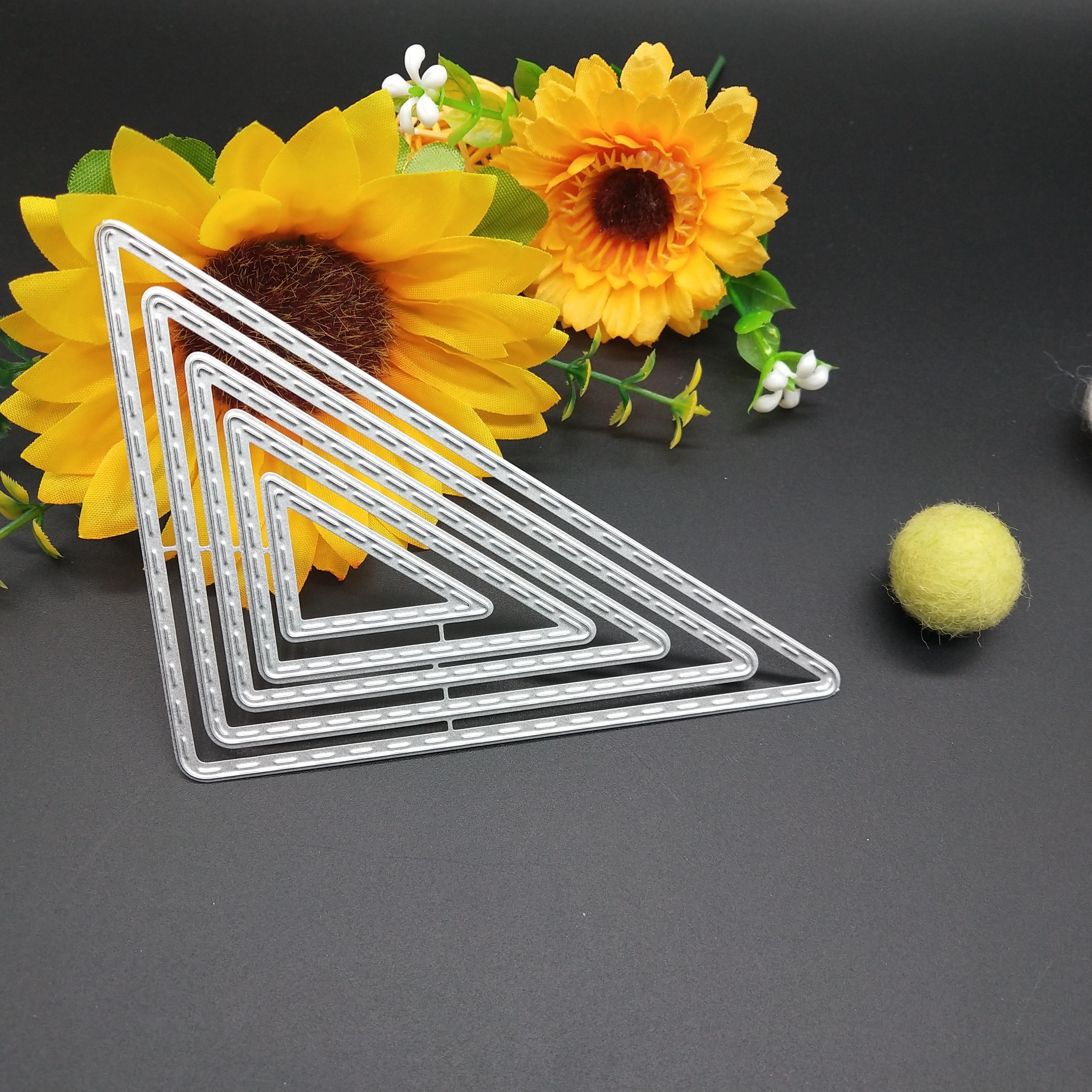 90 112mm Cascading frame new Metal Cutting Dies for decoration card DIY Scrapbooking stencil Paper Craft Album template Dies in Cutting Dies from Home Garden