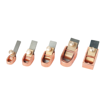 5 sztuk różowe złoto kolor skrzypce Makers hebel mosiądz narzędzie dla lutników skrzypce Making Tools Mini mosiądz samoloty samoloty do obróbki drewna tanie i dobre opinie NAOMI Do skrzypiec