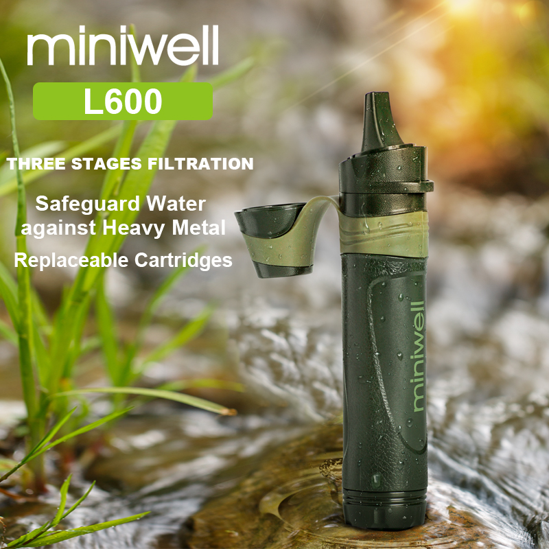miniwell outdoor survival gear portable water filter